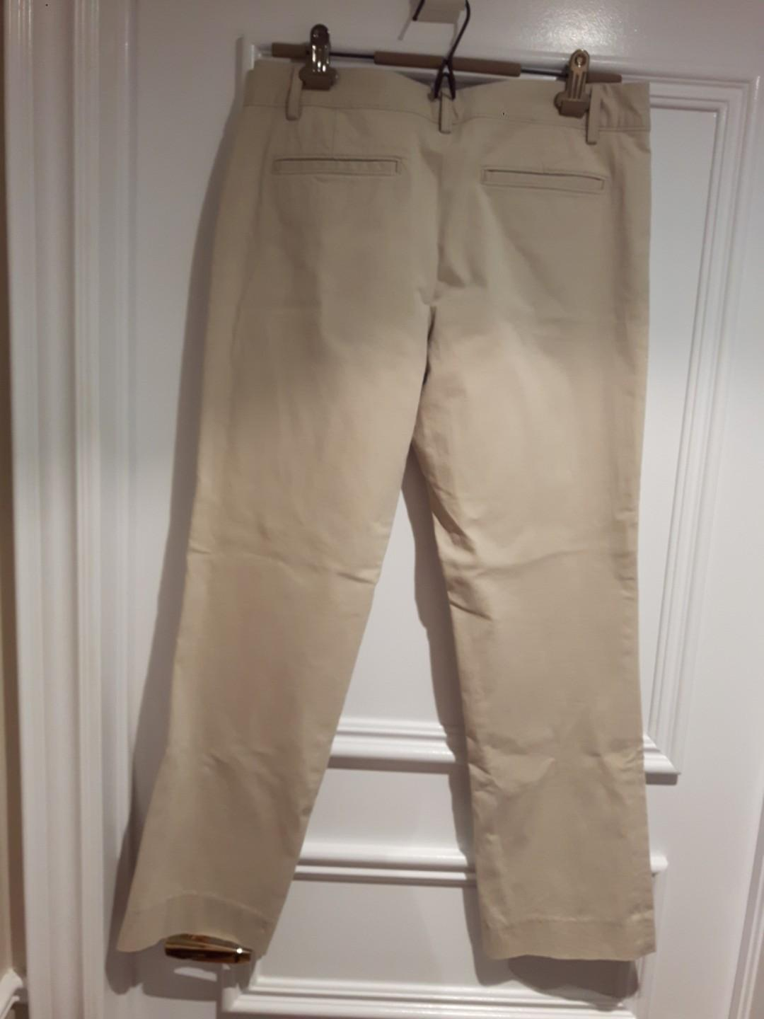 BANANA REPUBLIC-The Logan Fit Ankle pants size 6 stretch