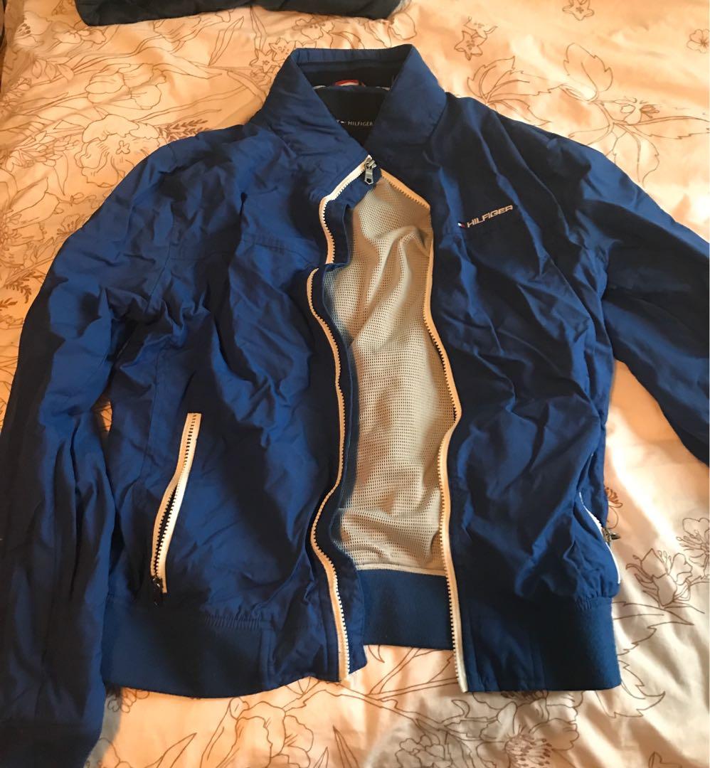 Blue Tommy Hilfiger Jacket