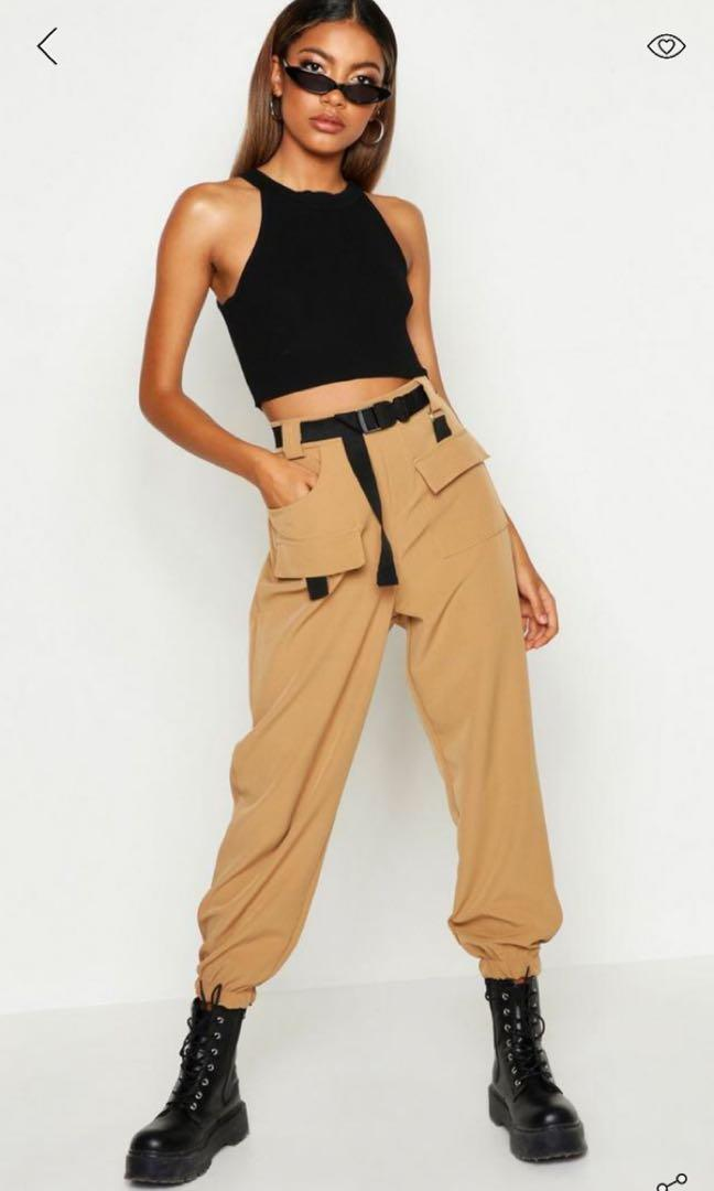 BNWT Black Cargo Pants