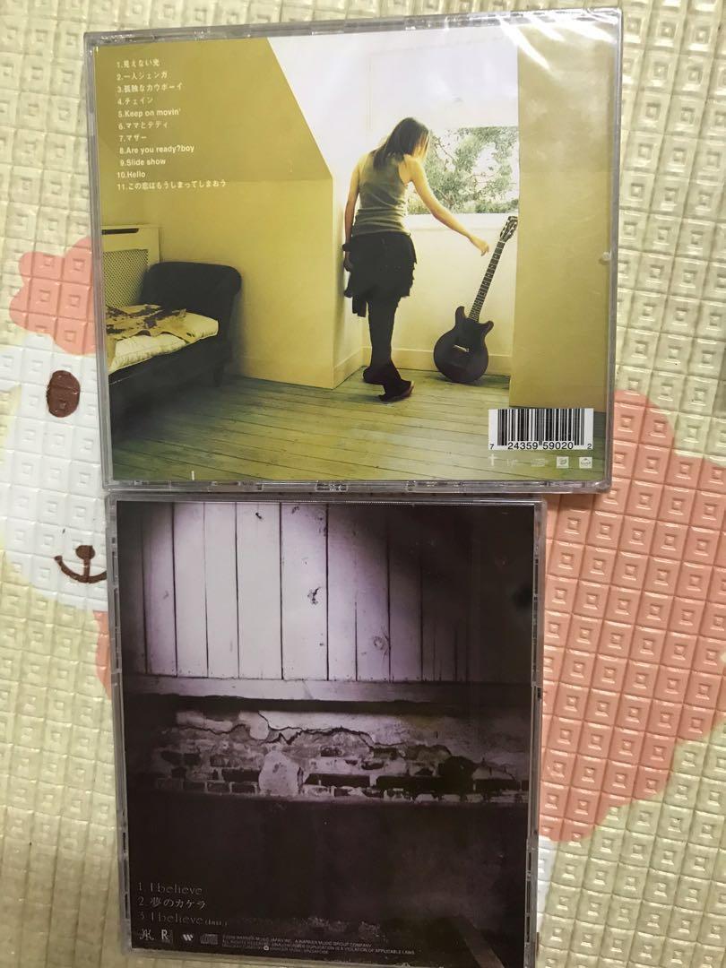 Brand New & sealed 6 pcs Jpop Japanese Original CD Album ALL RM150 only