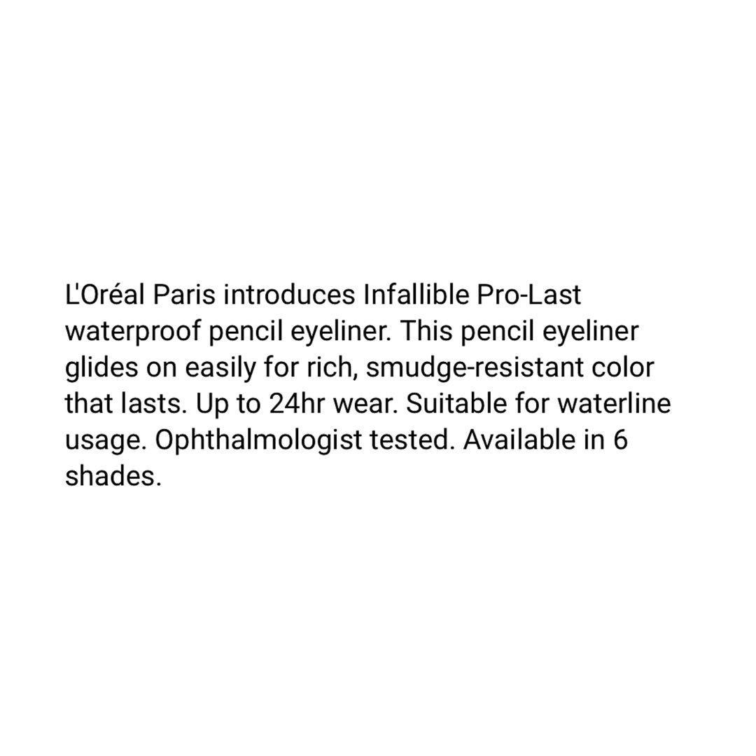 Brand new L'Oreal Paris Infallible pro last eyeliner