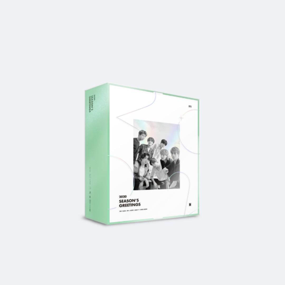 BTS summer package & Season's greetings loose item