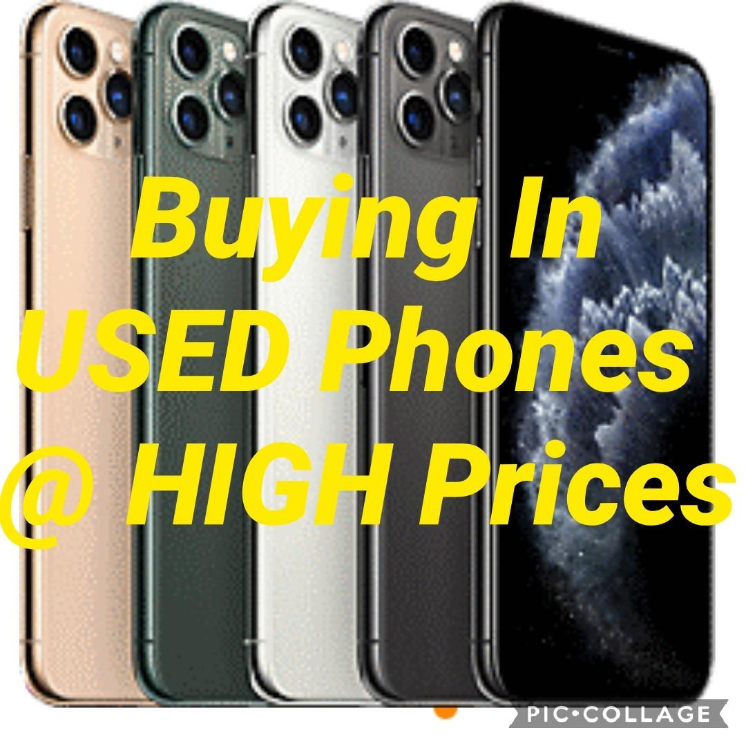 Buying USED Phones @ HIGH Prices