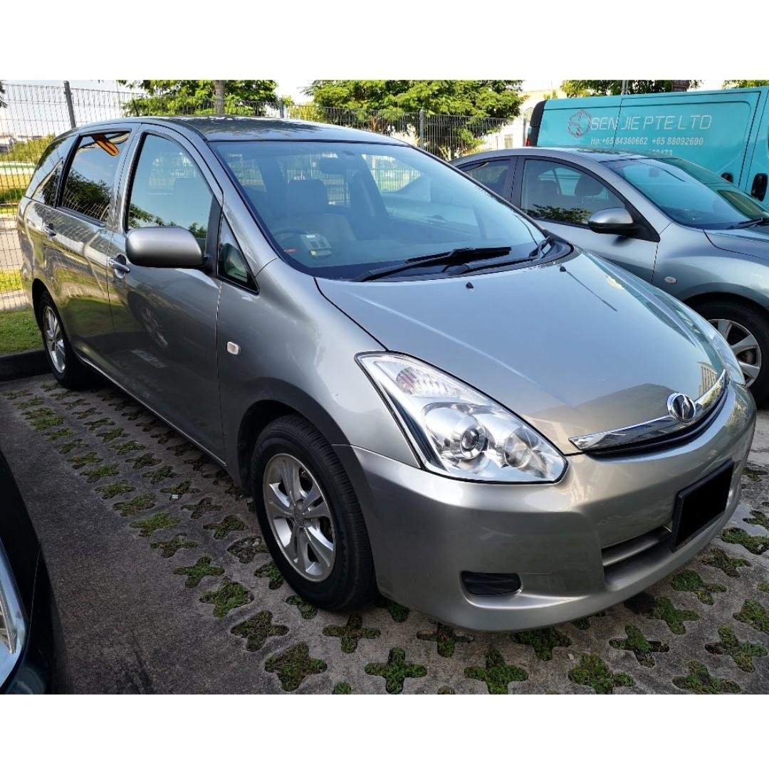Cheap Car Rental for Grab Toyota Wish