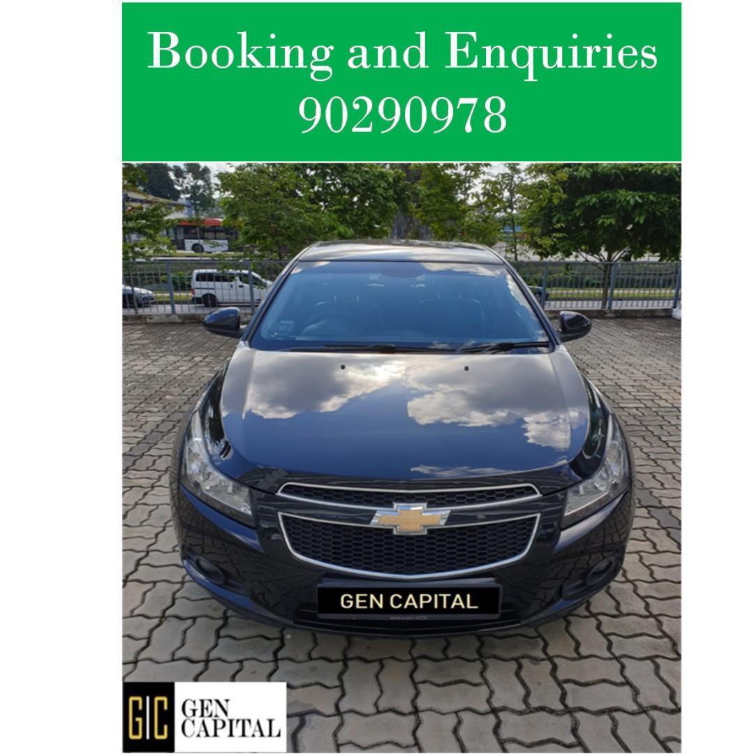 Chevrolet Cruze - Whatsapp 90290978! $500 driveaway!!