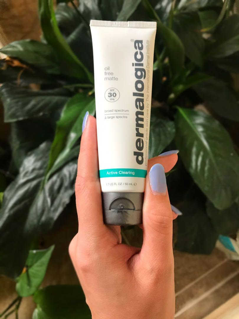 Dermalogica active clearing broad spectrum sunscreen