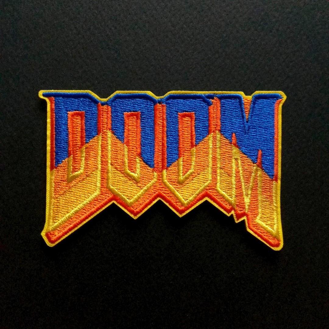 Doom Logo Iron On Patch