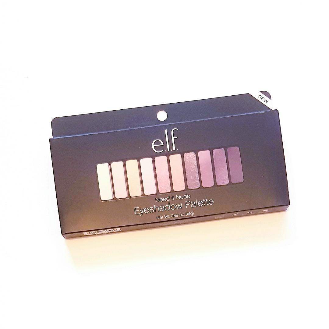 E.l.f. Cosmetics Need It Nude Eye Powder Shades Bold Eyeshadow Palette
