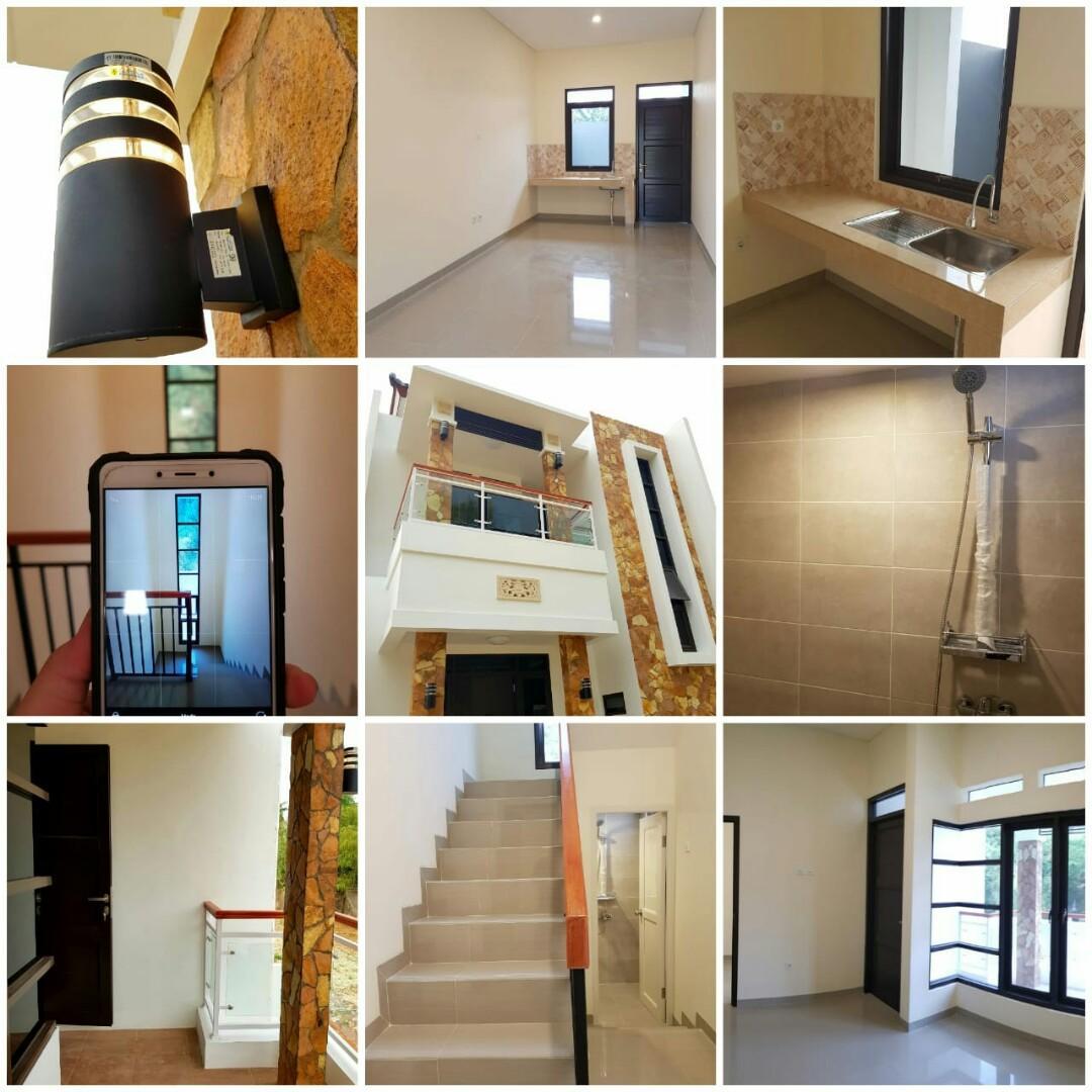 EXCLUSIVE RESIDENCE 2 Lantai harga terjangkau dengan Desain modern lokasi di CIBUBUR JAKARTA TIMUR