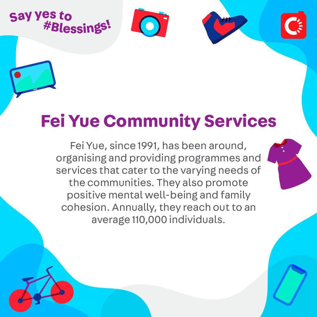Fei Yue Community Services is looking for...