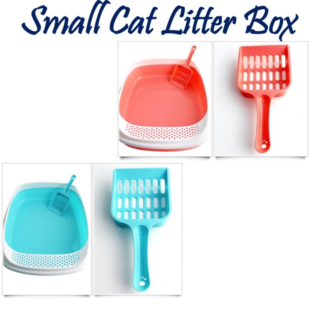 [FREE DELIVERY] Small Cat Litter Box