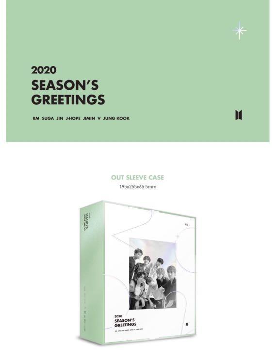 [🇲🇾GROUP ORDER] BTS 2020 SEASON'S GREETINGS *Incld Pre-order Benefit