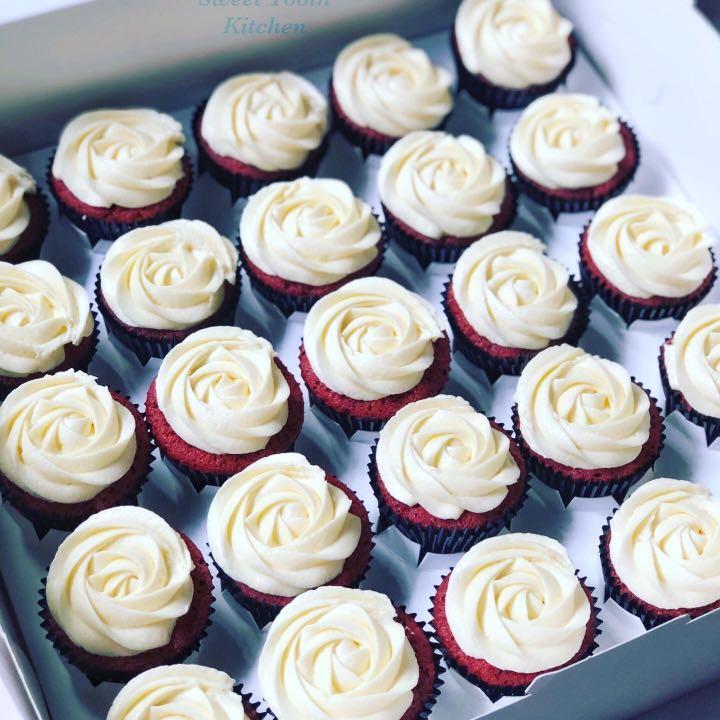 [HALAL] Red velvet cupcakes