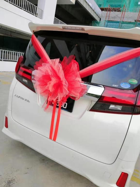 Happy wedding! 💑 Handsome men, When will you be married?, let me know, I can drive at any time.😍 ALPHARD/VELLFIRE Wedding Car For Rental 🚗