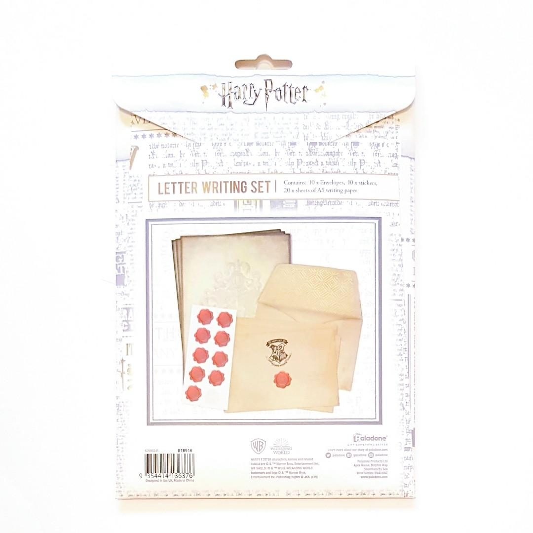 Harry Potter Hogwarts School of Witchcraft and Wizardry Charater Student Stamp Letter Writing Set #swapau