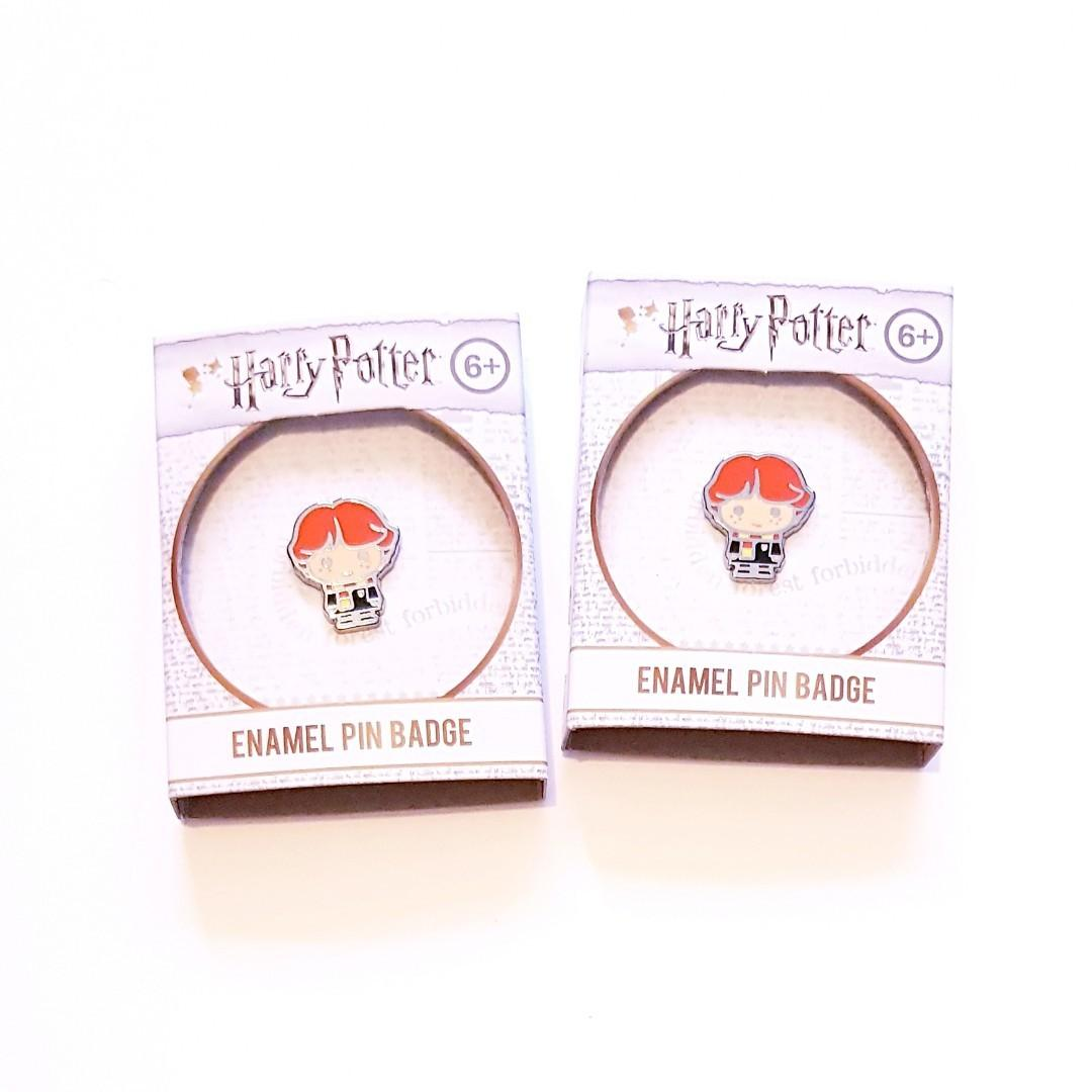 Harry Potter Ron Weasley Cute Gryffindor Character Enamel Pin Badge #swapau