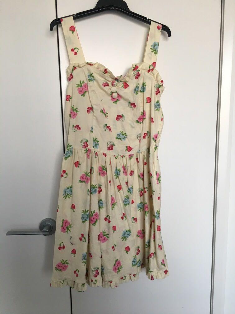 HELLBUNNY rockabilly dress sM