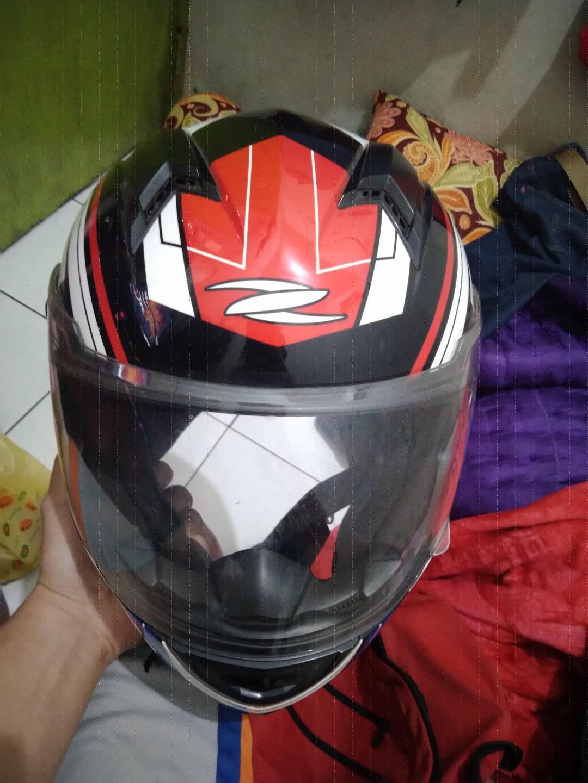 Helm zeus plasma 811 bkn kbc ls2 nolan yamaha