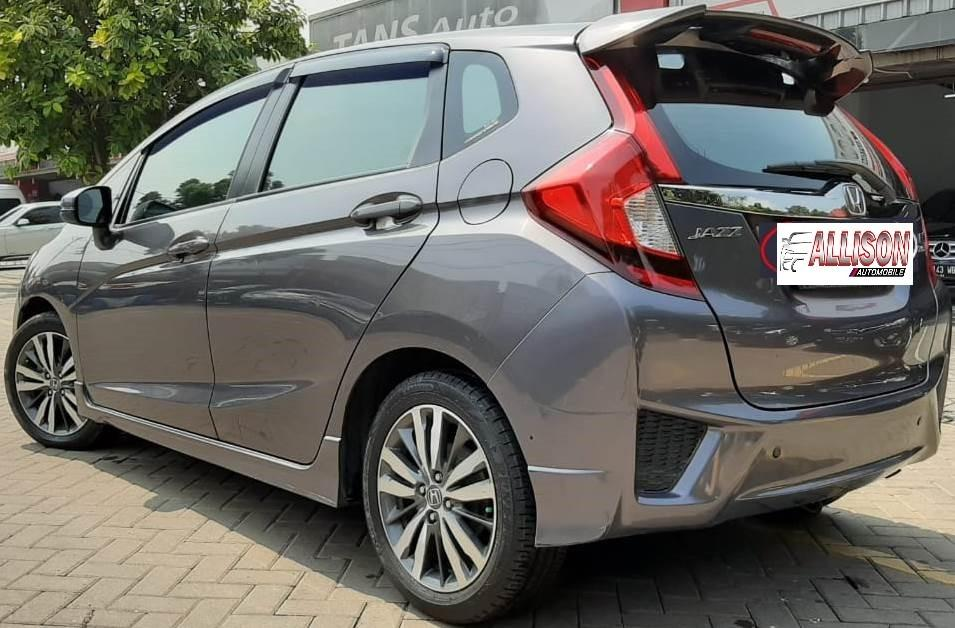 Honda ALL New Jazz RS Facelift Automatic 2016, Dp 42,9 Jt, Warna Abu Abu, No Pol Ganjil.