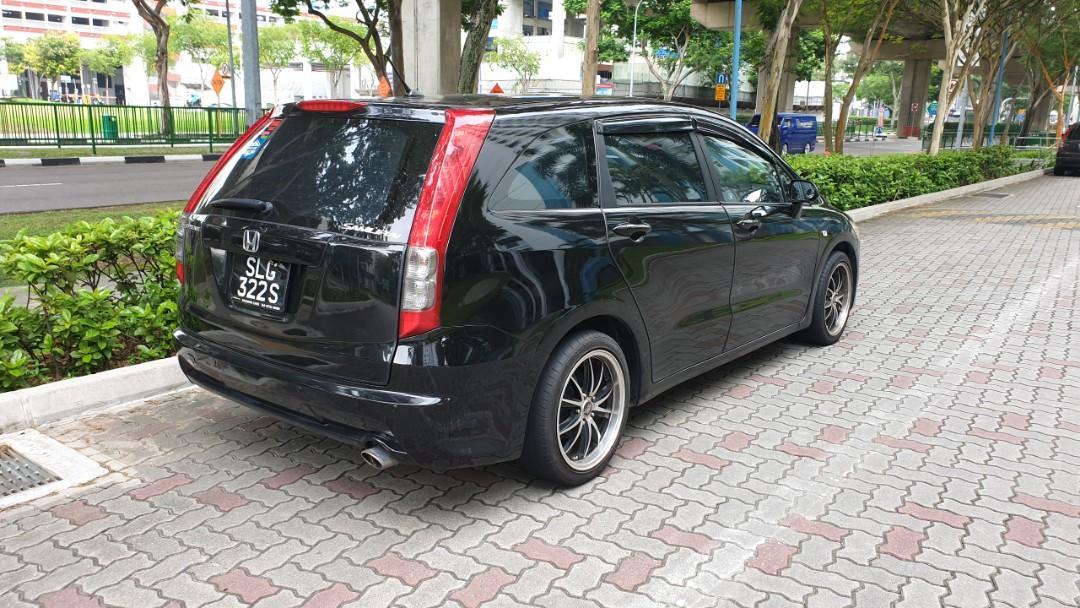 Honda Stream 1.8A $380/week. Grab/Go-Jek/Personal Usage.