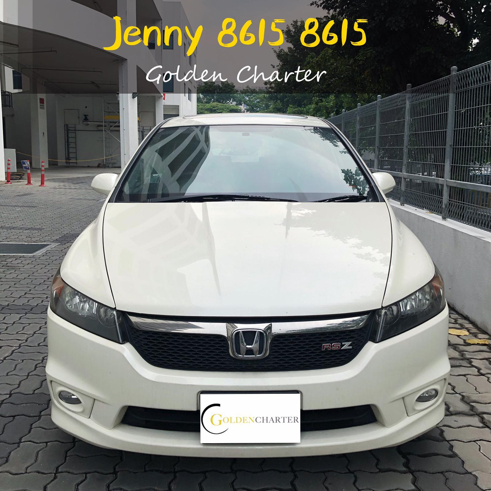 HONDA STREAM RSZ 1.8a with sunroof.GOJEK INCENTIVE REBATE.cheap car rental mpv.good condition.phv personal use .grab usage gojek rebate.toyota wish