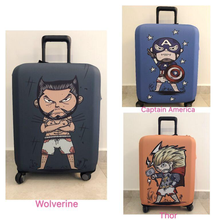 Instock Luggage Cover Marvel Captain America Thor