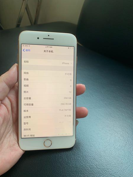 iPhone 8+ 256, gold ( super low usage)