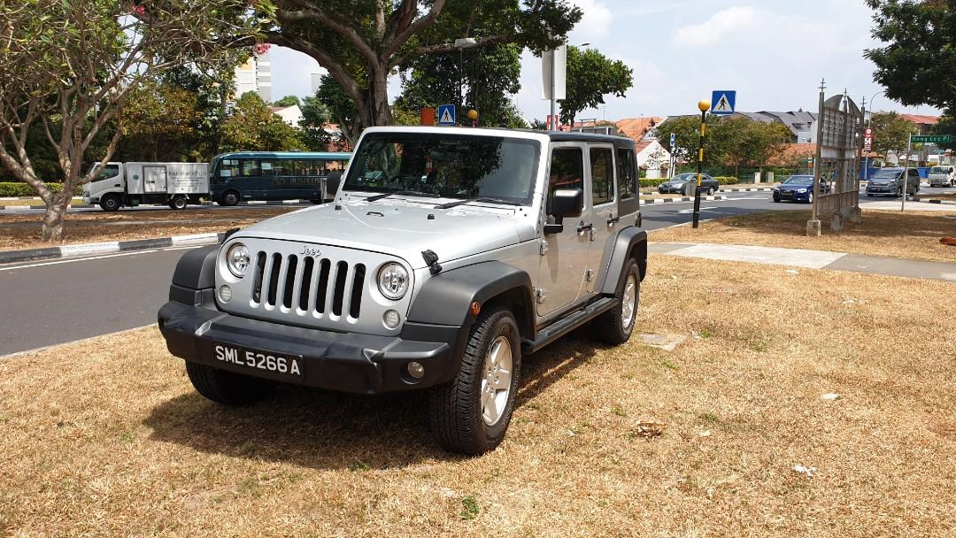 Jeep Wrangler Unlimited Sport 3.8 4 Door Auto