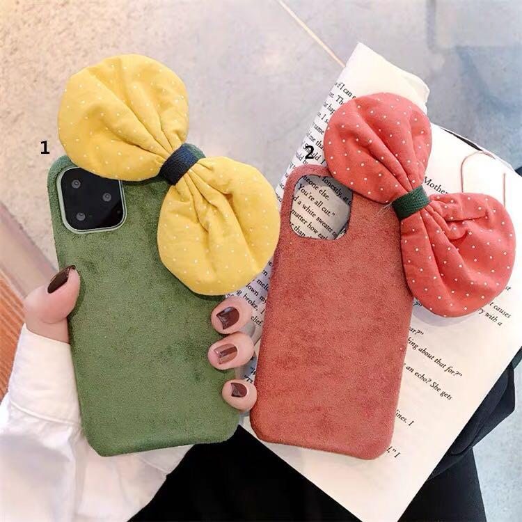 Korean Ulzzang Ribbon Bow iPhone Case