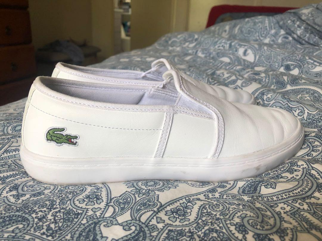 Lacoste shoes leather