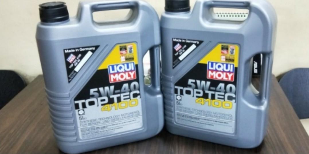 Liqui Moly Toptec 4100 5w40 Car Servicing @ $98/nett