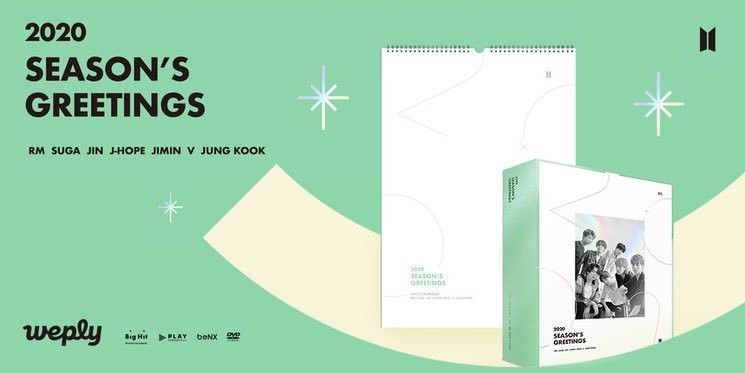[LOOSE] BTS Season Greeting 2020