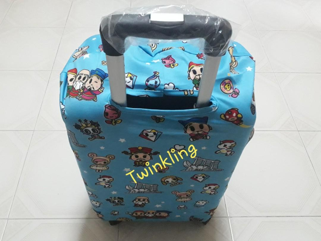 Luggage cover tokidoki x Marina Bay sands