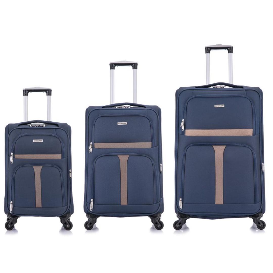 LUGGAGE, SKYWALKER SOFT-CASE ! NEW ARRIVAL! NAVY BLUE