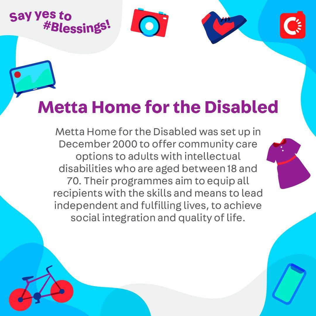 Metta Home for the Disabled is looking for...