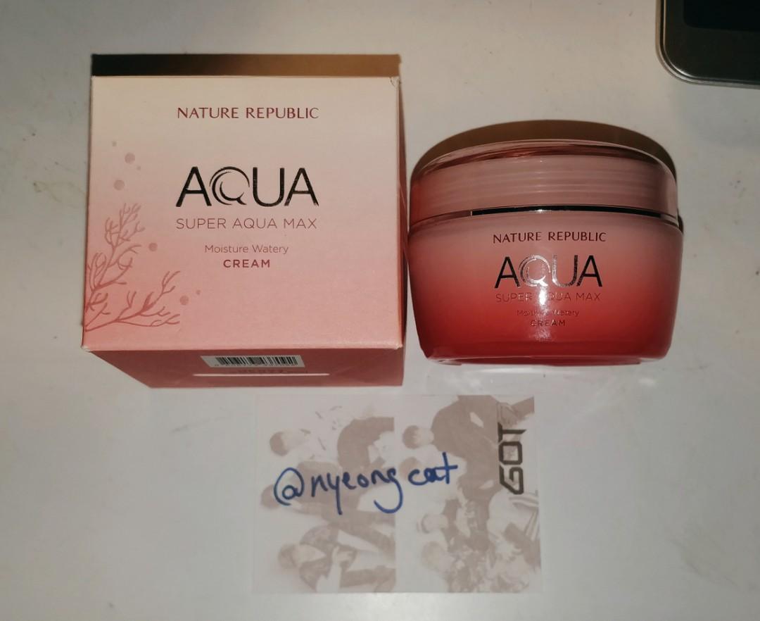 Nature Republic - Super Aqua Max Watery Cream (Pink)