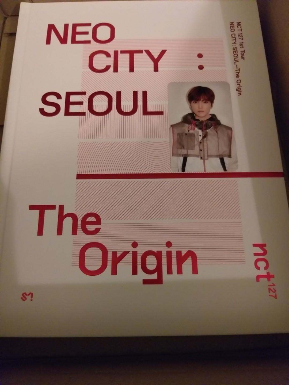 NCT 127 - Neo City: Seoul The Origin Live Album with Haechan / Johnny photocard
