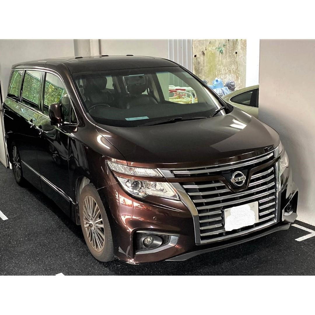 NISSAN ELGRAND XL 2007
