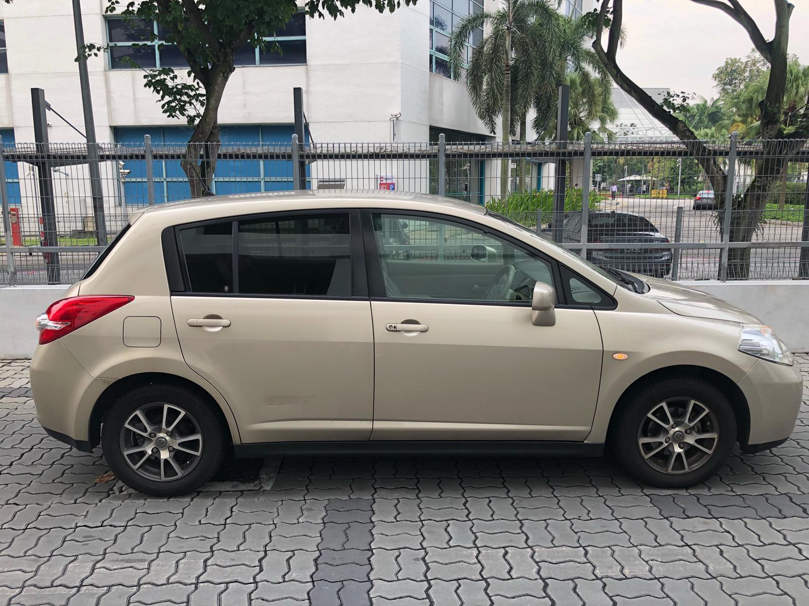 Nissan Latio 1.5a*good condition*40k mileage car .incentive rebate For Rent for grab Rental Gojek Or Personal Use Low price and Cheap