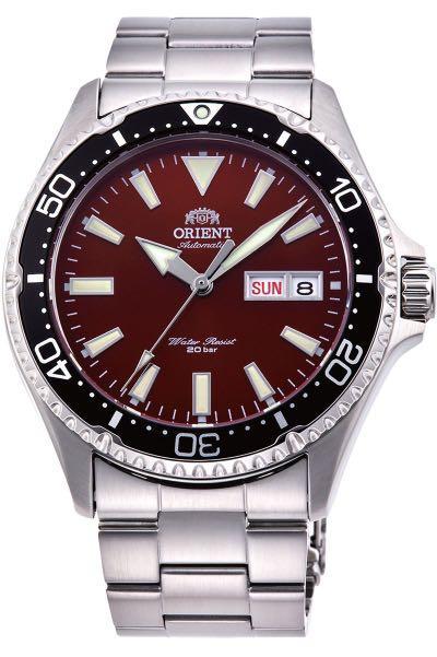 [BNIB] Orient Mako III Kamasu Automatic 200M Men's Watch Red Dial RA-AA0003R