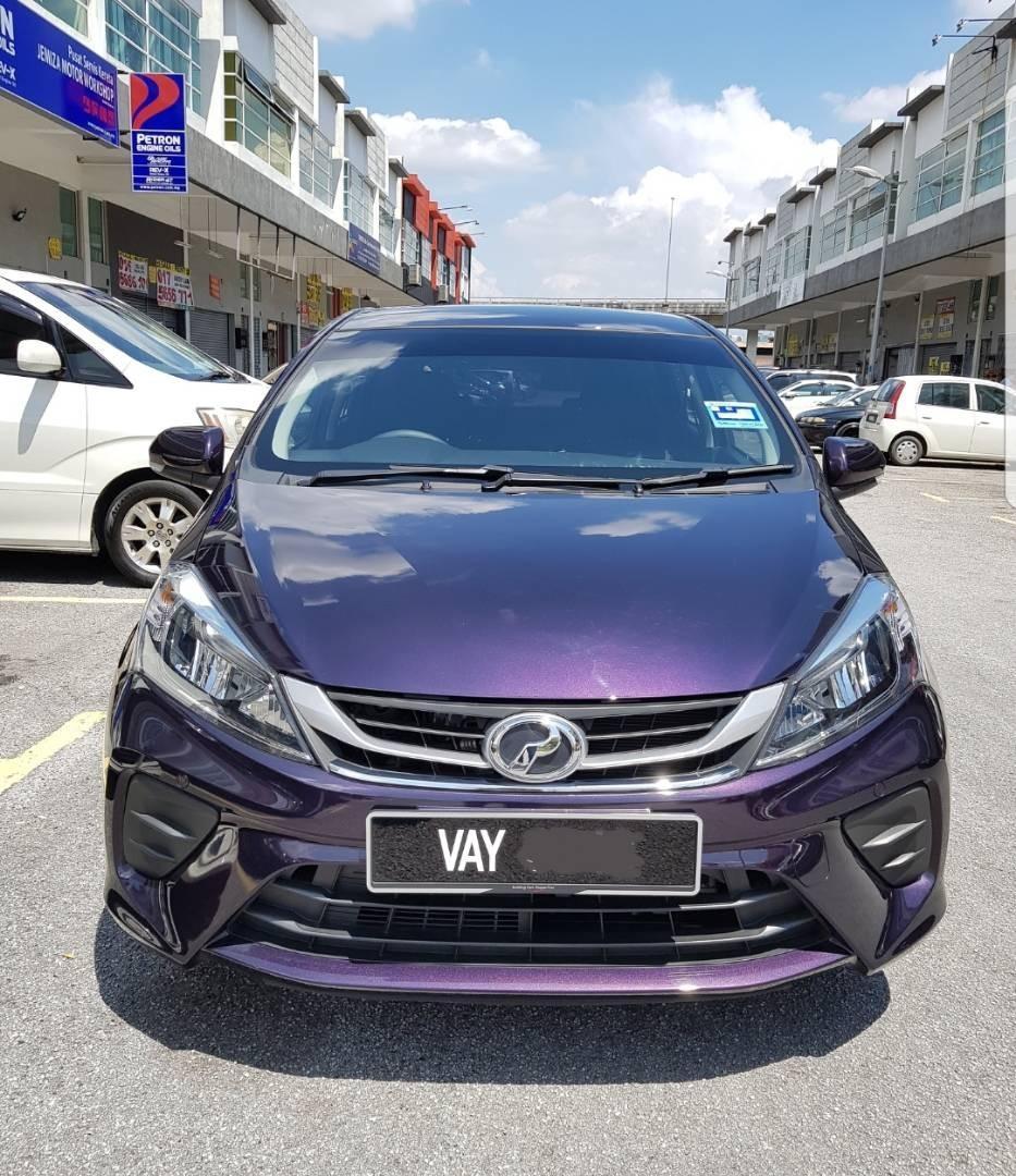 Perodua Myvi 1.3 (A) 2019 Kereta Sewa Murah Selangor KL