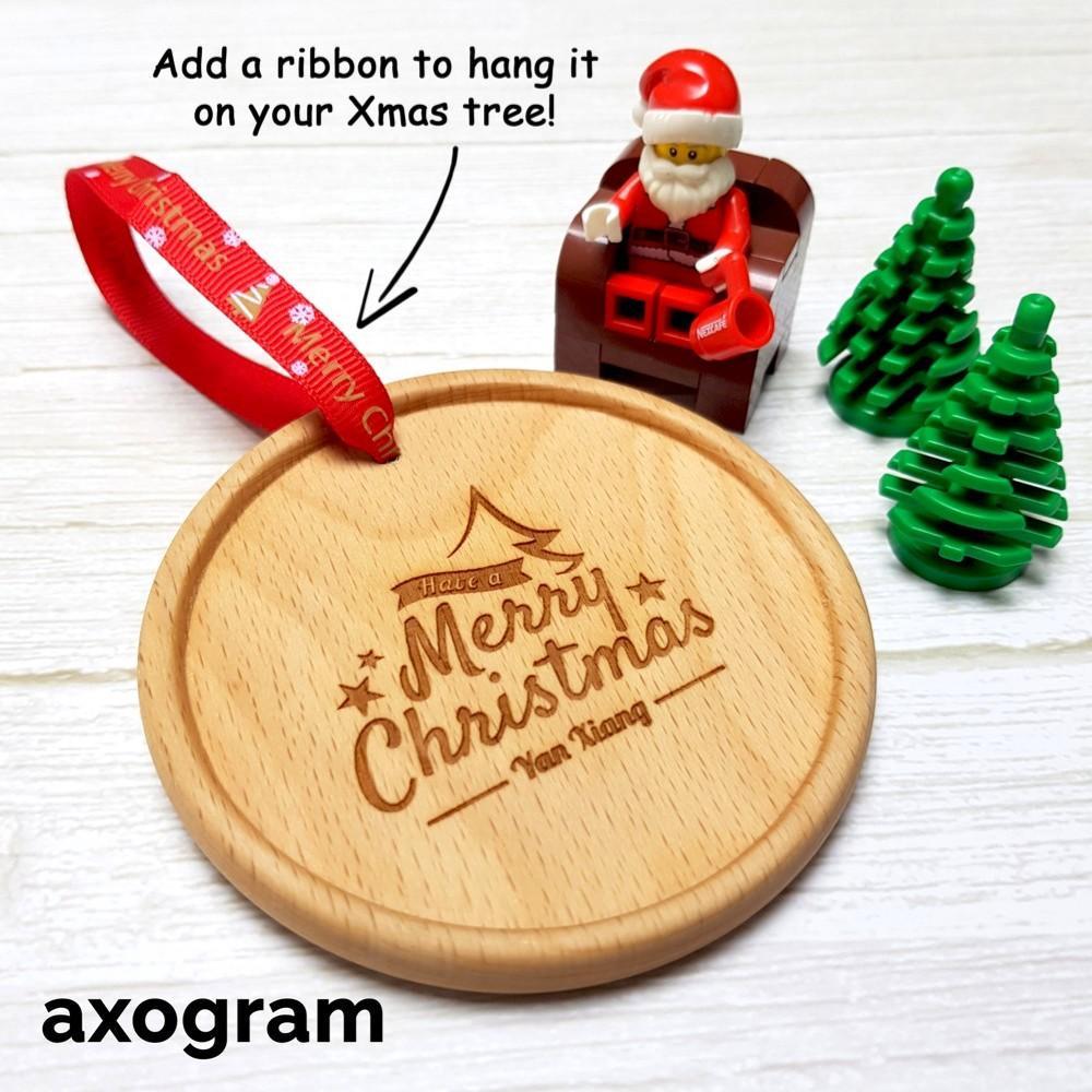 Personalized Christmas Tree decor