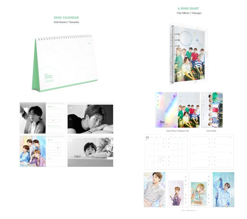 🇲🇾[PREORDER GO] #BTS 2020 SEASONS GREETINGS - LOOSE ITEMS ONLY (Limited slots)