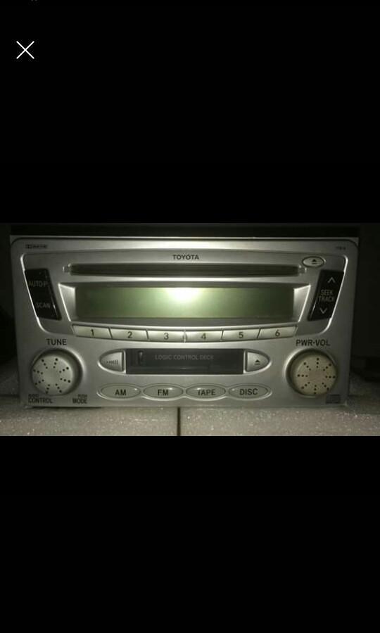 Radio Toyota vios ori