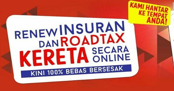 Renew roadtax