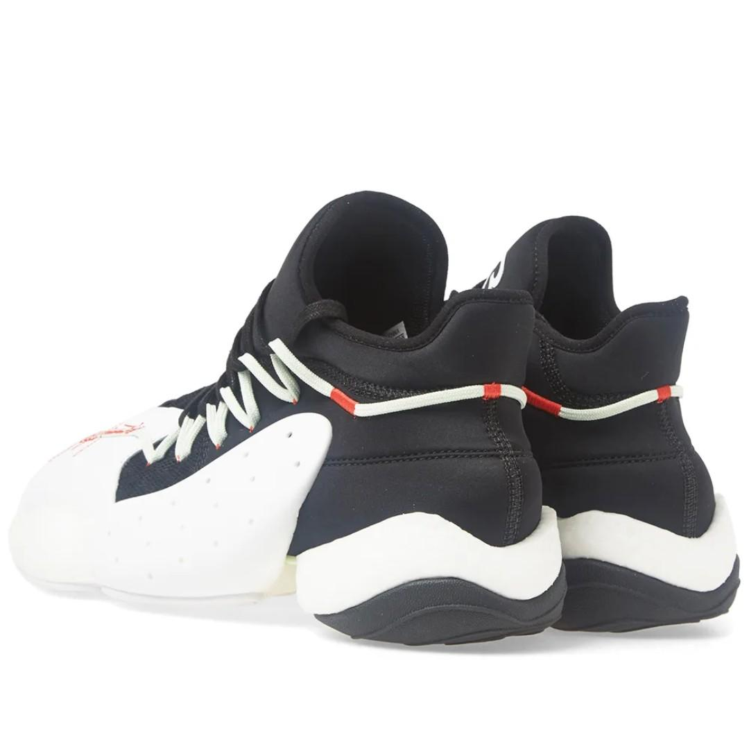 SALE Y-3 BYW BBALL BLACK, WHITE & RED