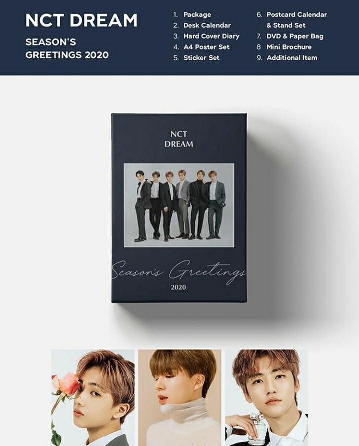SM Artist Season's Greetings