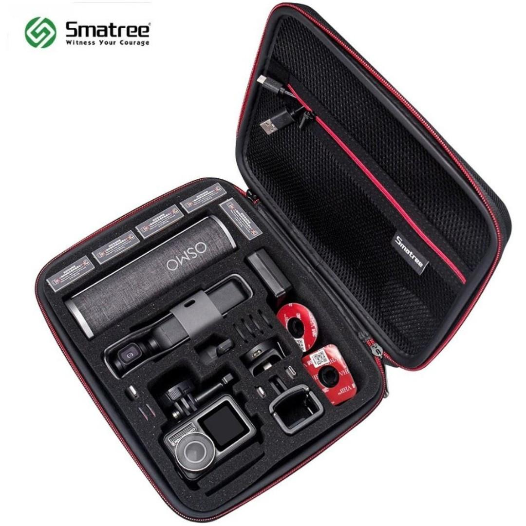 Smatree Smacase SM260 Carrying Case for GoPro HERO 8,7,6,5,4 / DJI OSMO Action Camera Osmo POCKET Gimbal