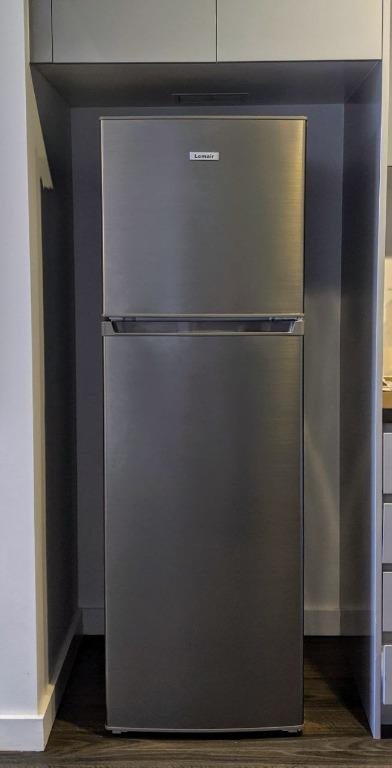Stainless steel Lemair 268L top mount refrigerator (LTM268S)