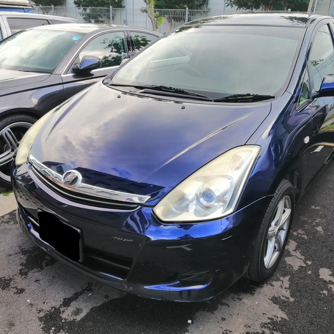 TOYOTA WISH Grab Use Cheap